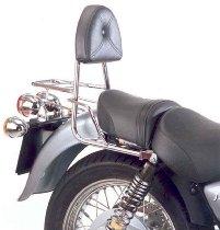 Hepco & Becker Sissybar without rearrack, Chrome - Moto Guzzi California Jackal (1999->)