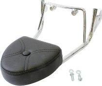 Hepco & Becker Sissybar without rearrack, Chrome - Moto Guzzi Nevada Classic V 750 (2004->2009)