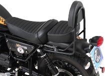 Hepco & Becker Sissybar without rearrack, Black - Moto Guzzi V9 Bobber with long seat (2017->)