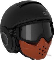 Moto Guzzi Helm Mask, schwarz matt, Gr.XL