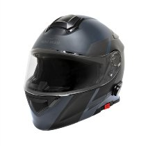 Moto Guzzi Modular helmet, blue, size: XL, bluetooth