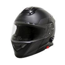Moto Guzzi Modular helmet, grey, size: XL, bluetooth