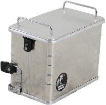 Hepco & Becker Aluminium Standard 40 left sidebox, Silver