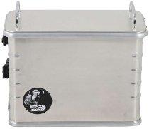 Hepco & Becker Aluminium Standard 40 right sidebox, Silver