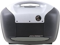Hepco & Becker Journey-side case 42 black, left side with silver cover
