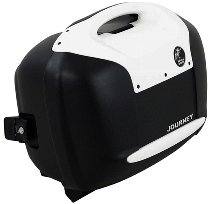 Hepco & Becker Journey sidecase-set 42Ltr., black with white cover
