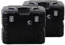 Hepco & Becker side case-kit Gobi 37Ltr., Black