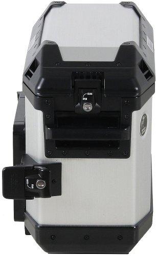 Hepco & Becker sidebox Alu Xplorer 30, silver right side