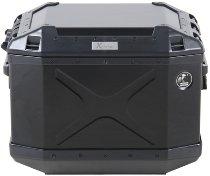 Hepco & Becker sidebox Alu Xplorer 40, black left side