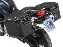 Hepco & Becker left Alu-Side cases Xplorer 40 for side case carrier set Cutout, Black