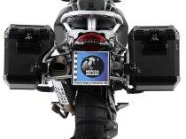 Hepco & Becker right Alu-Side cases Xplorer 40 for side case carrier set Cutout, Black