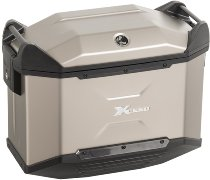 Hepco & Becker right Xceed side case 38 Ltr., Titan