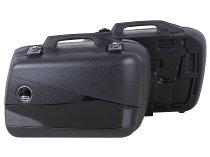 Hepco & Becker left Junior-single side case FLASH 30 with black cover, Black