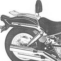 Hepco & Becker Solorack with backrest, Chrome - Suzuki VZ 800 Marauder 1996->2003