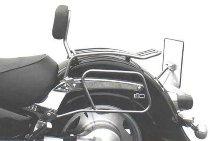 Hepco & Becker Solorack with backrest, Chrome - Suzuki VL 1500 Intruder 1998->2004