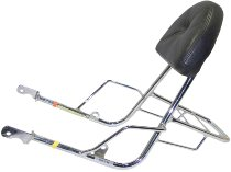 Hepco & Becker Sissybar with rearrack, Chrome - Moto Guzzi California Jackal (1999->)