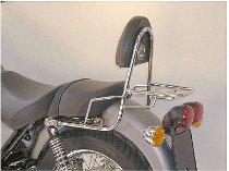 Hepco & Becker Sissybar con portamaletas trasero, Chromo - Moto Guzzi California Stone (2001->)