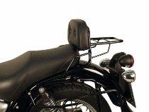 Hepco & Becker Sissybar with rearrack, Black - Moto Guzzi California Stone Touring (2001->)