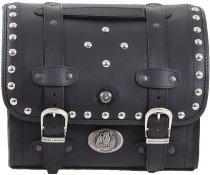 Hepco & Becker leather-Smallbag Buffalo Custom 17Ltr., Black