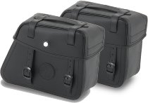 Hepco & Becker Saddlebags Rugged for Cutout incl. quick release, Black