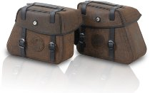 Hepco & Becker Saddlebags Rugged for Cutout incl. quick release, Brown