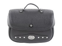 Hepco & Becker Leather single bag Nevada for C-Bow, Black