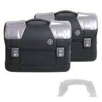 Hepco & Becker side case-kit Strayker for C-Bow sidecarrier, Black