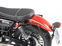 Hepco & Becker Leatherbag tube carrier Cutout, Black - Moto Guzzi V 9 Roamer (2016->)