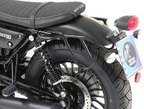 Hepco & Becker Leatherbag tube carrier Cutout, Black-Moto Guzzi V9 Bobber(2016-)/Bobber Sport 2019-