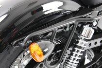 Hepco & Becker Leatherbag tube carrier Cutout, Black-Harley-Davidson Sportster 883 Roadster/Iron 883