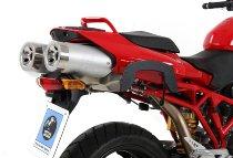 Hepco & Becker C-Bow Sidecarrier, Black - Ducati Multistrada 620 (2003->2006) / Multistrada 1000