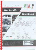 Benelli Workshop manual ( german ) - 500 Quattro, 750 SEI from 1973