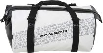 Hepco & Becker Travel Zip M Packing bag 30Ltr., waterproof, Black / White
