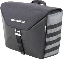 Hepco & Becker single sidebag Xtravel for C-Bow side carrier, Anthracite