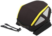Hepco & Becker rear bag Royster with belt attachment, Black / Yellow