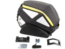 Hepco & Becker rear bag Royster incl. Lock-it attachment, Black / Yellow