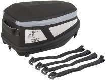 Hepco & Becker Royster rearbag Sport with strap attachment, Black / Grey