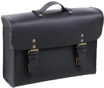 Hepco & Becker Legacy Leather Briefcase, Black