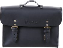 Hepco & Becker Legacy Leather Briefcase for C-Bow carrier, Black
