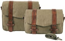 Hepco & Becker Legacy courier bag set M/L for C-Bow carrier, Green