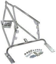 Hepco & Becker Sidecarrier permanent mounted, Chrome - Moto Guzzi V 65 Florida (1992->1994)