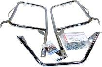 Hepco & Becker Sidecarrier permanent mounted, Chrome - Moto Guzzi California 1100 / Evolution