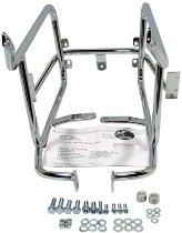 Hepco & Becker Sidecarrier permanent mounted, Chrome - Moto Guzzi California Jackal (1999->)