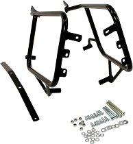 Hepco & Becker Sidecarrier permanent mounted, Black - Moto Guzzi Breva V 850/ 1100/ 1200/ Norge 1200