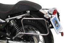 Hepco & Becker Sidecarrier permanent mounted, Chrome - Moto Guzzi Nevada 750 Anniversario