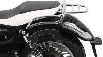 Hepco & Becker Tube rear rack, Chrome - Moto Guzzi California 1400 Custom/Touring/Audace/Eldorado