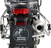 Hepco & Becker Side carrier Cutout, Stainless Steel - BMW F 750 GS (2018 ->)