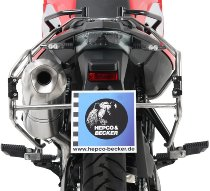 Hepco & Becker Side carrier Cutout, Stainless Steel - BMW F 700 GS (2012->2017)