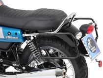 Hepco & Becker Sidecarrier permanent mounted, Black - Moto Guzzi V 7 III Stone/Special/Anniversario