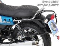 Hepco & Becker Sidecarrier permanent mounted, Chrome - Moto Guzzi V 7 III Stone/Special/Anniversario
